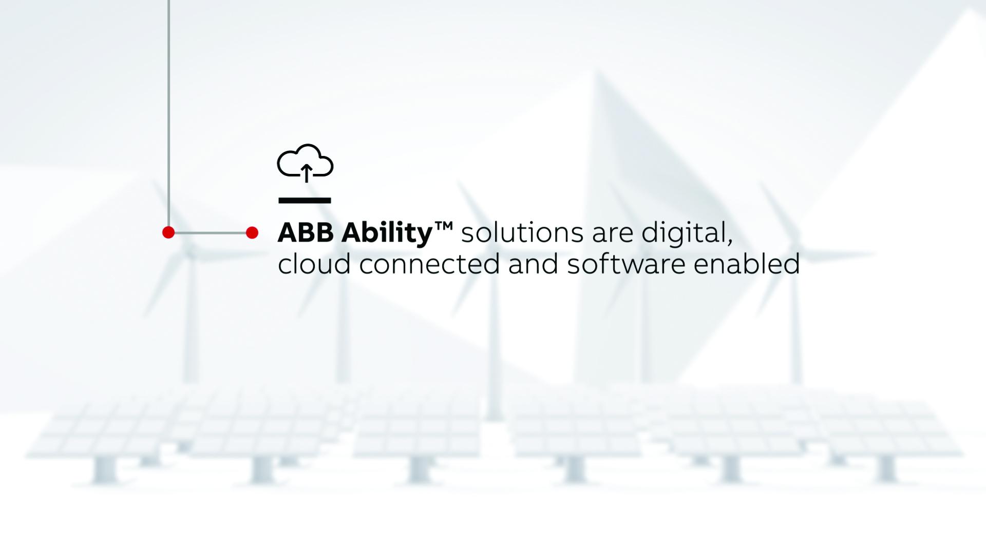 ABB Ability™ macht die Verteilung der elektrischen