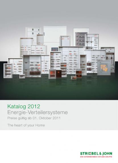 Striebel&John Katalog 2011 | Voltimum Deutschland