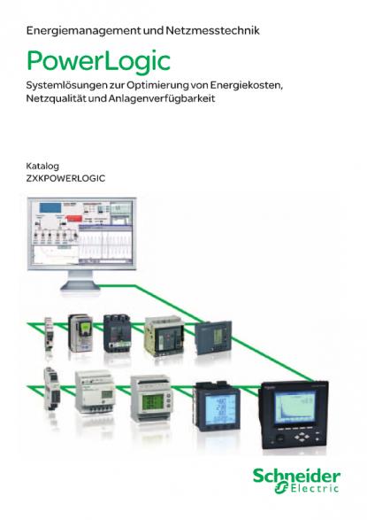 Energie- Management und Netzmesstechnik PowerLogic  